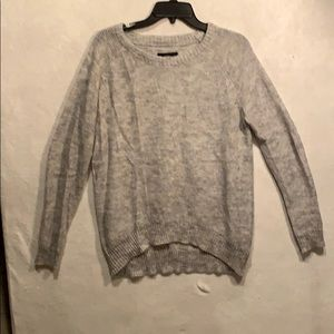 Gray and silver sweater